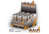 1 blikje met 12 kolen High Quality Dutch Charcoal 40mm